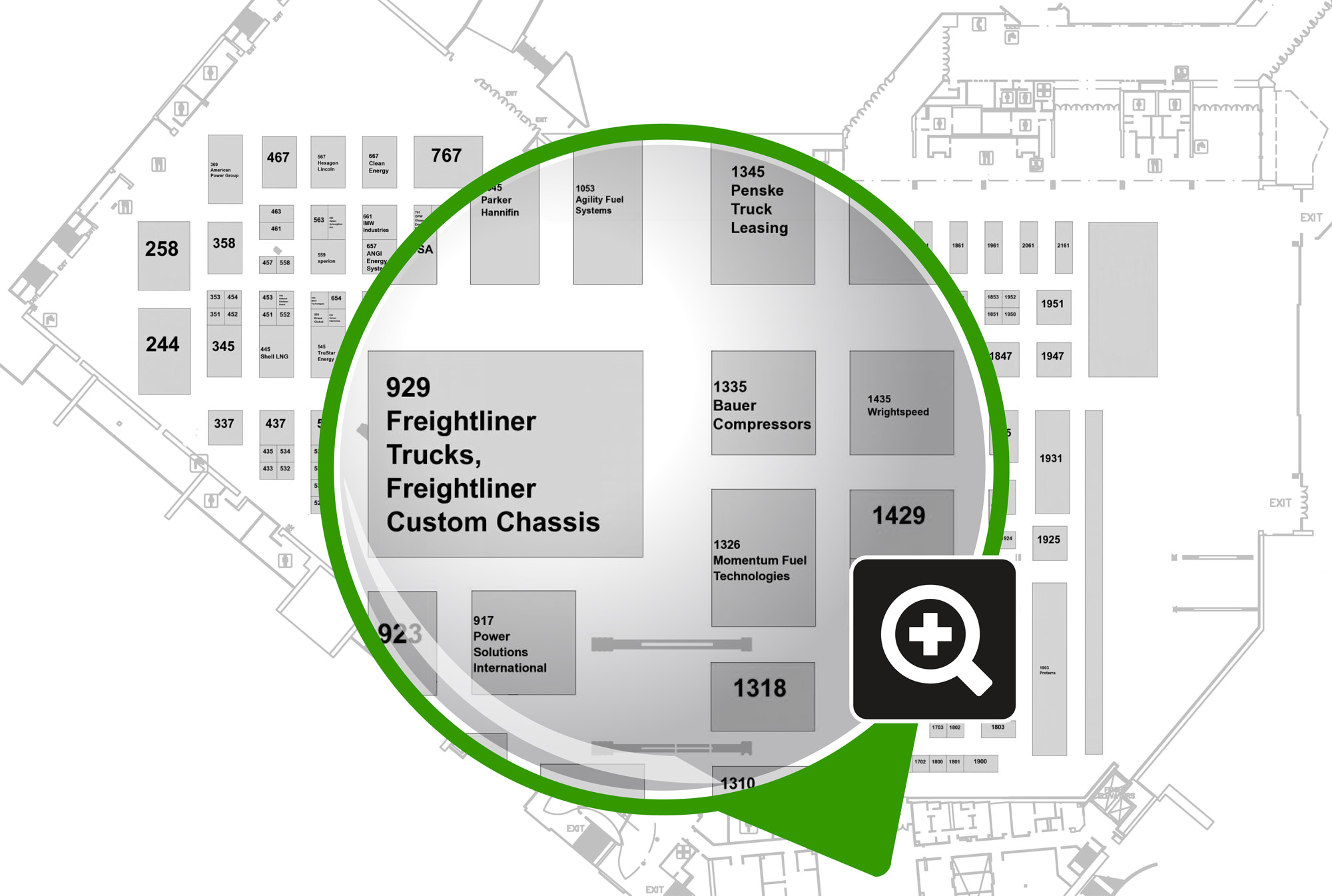 Click to View the Expo Hall Map
