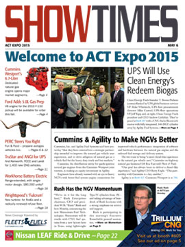 ACT Expo ShowTimes Cover - Day 1